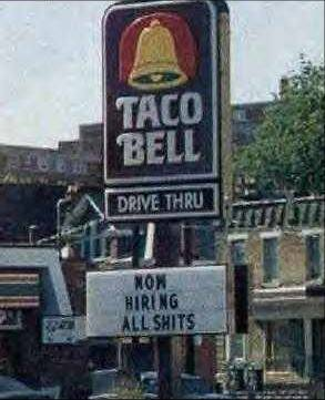 Who is Taco Bell Hiring?
