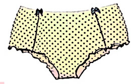 You are a Polka-dot Boyshorts
